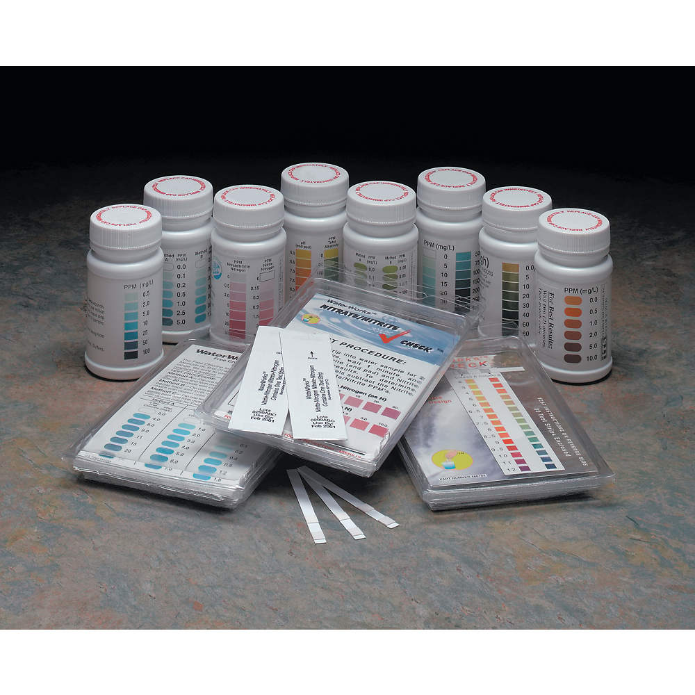 CHLORINE TEST STRIPS-200/TUBE
