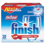 FINISH 3 IN 1 POWER BALL TABS 160/CASE