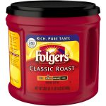 FOLGERS COFFEE  30.5 OZ CANS / 6 PER CASE