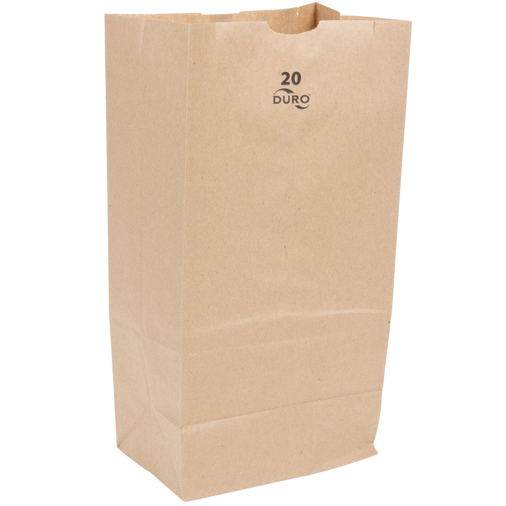 20 # BROWN BAG 500/ BUNDLE