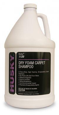 HUSKY DRY FOAM CARPET CLEANER 1 GAL.
