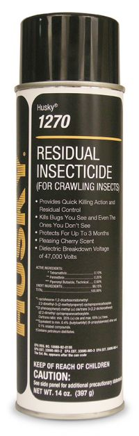 HUSKY AEROSOL RESIDUAL INSECTICIDE FOR CRAWLING INSECTS-1 CAN