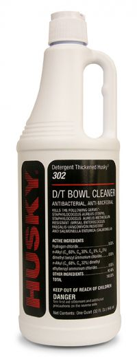 HUSKY 9% HCL THICK CLINGING  BOWL CLEANER / 1 QUART