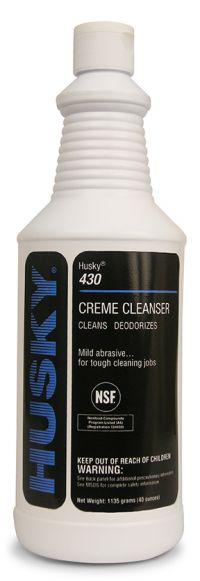 HUSKY CREME CLEANSER- 1 QT