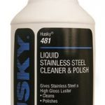 HUSKY LIQUID STAINLESS STEEL CLEANER/POLISH-1 QT.