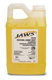 DAMP MOP CLEANER FOR JAWS 9000 SYSTEM 3/CS.