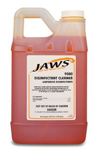 DISINFECTANT CLEANER FOR JAWS 9000 SYSTEM 3/CS.