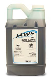 GLASS CLEANER FOR JAWS 9000 SYSTEM 3/CS.
