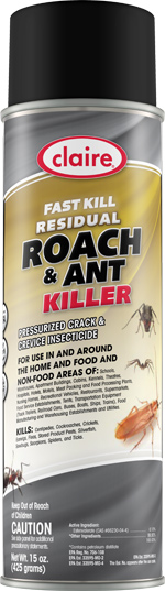 CLAIRE ANT & ROACH SPRAY