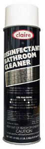 CLAIRE FOAMING DISINFECTANT BATHROOM CLEANER-1 CAN