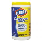 CLOROX LEMON SCENT DISINFECTING WIPES (75 CT.) - 6/ CS.