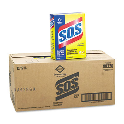 S.O.S. SOAP PADS 15/BOX