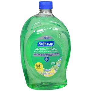 SOFTSOAP ANTIBACTERIAL HAND SOAP REFILL-1 GAL.