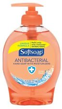 SOFTSOAP ANTIBACTERIAL HAND SOAP 7.5 OZ. BOTTLES- 12/CS
