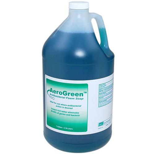 DEB 1 GALLON AREO GREEN ANTI BAC FOAMING HAND SOAP