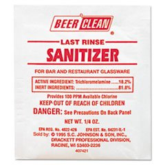 BEER CLEAN LAST RINSE SANITIZER-100/CS.