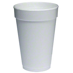 16 OZ. WHITE STYROFOAM CUPS-1000/CS