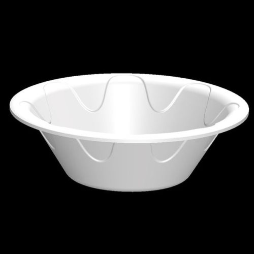 12 OZ. WHITE STYROFOAM BOWL-1000/CS