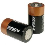 DURACELL D BATTERIES- 1 EACH