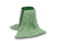 EARTH KLEEN LARGE GREEN MOP W/ NARROW BAND- 1 EACH