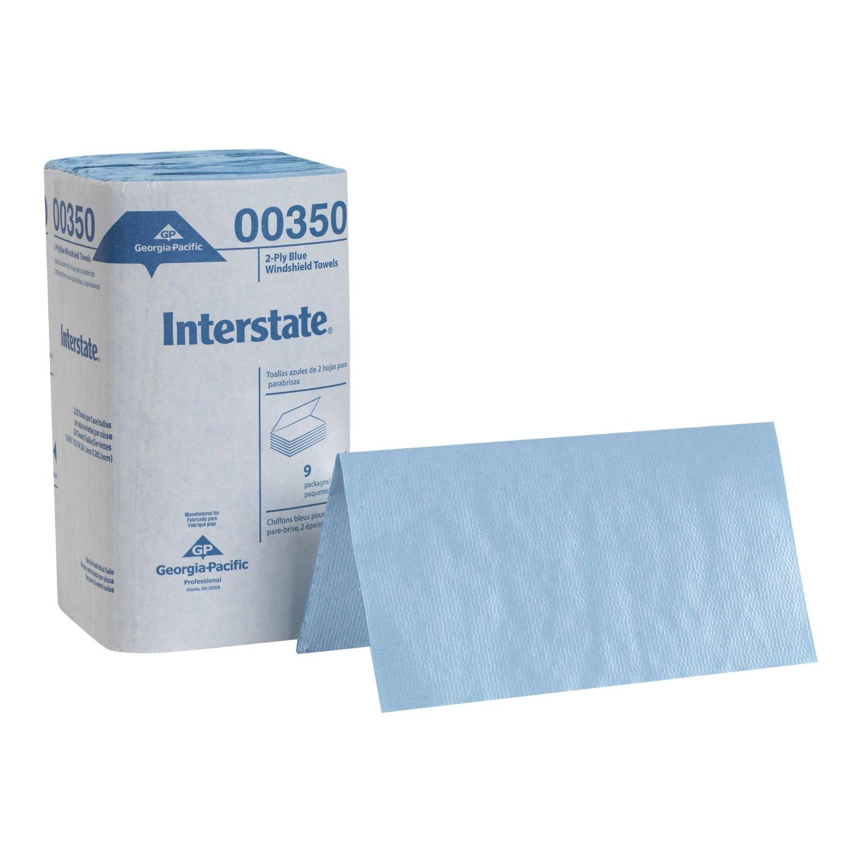 2 PLY BLUE WINDSHIELD TOWELS 2250/CS