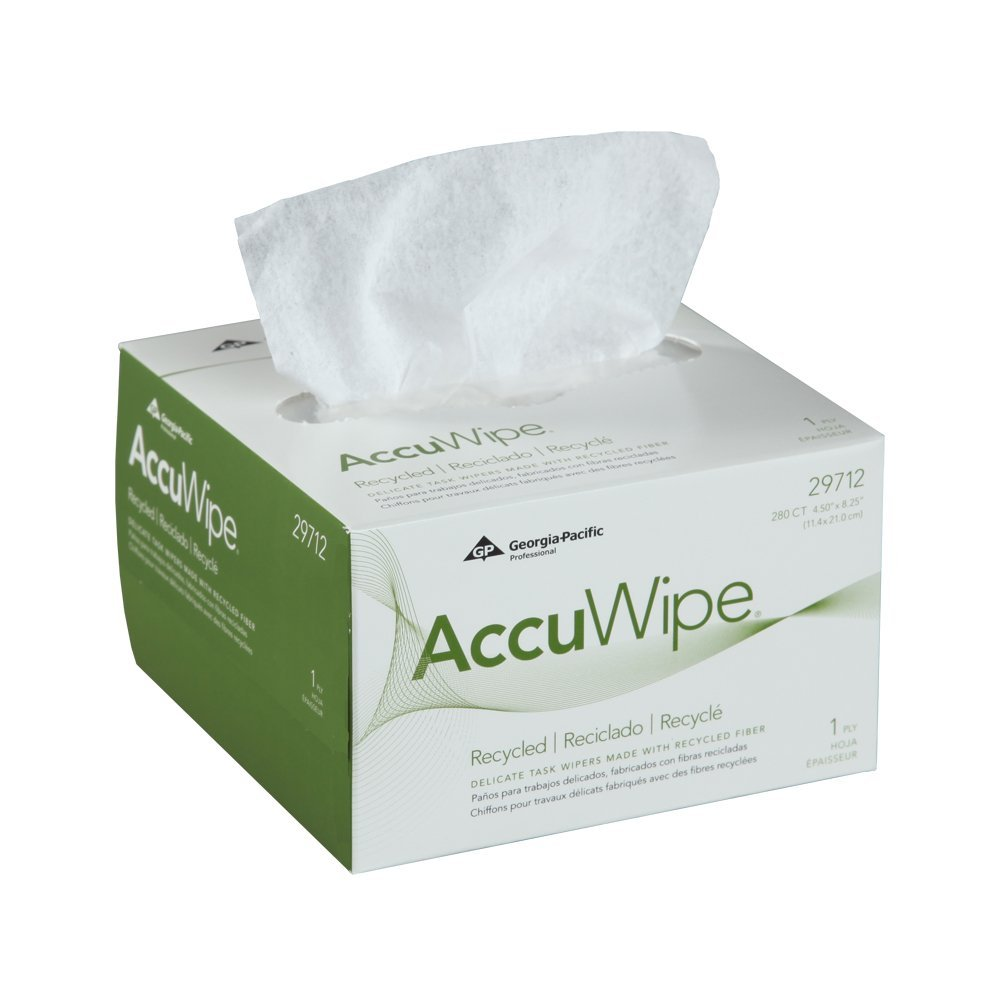 ACCUWIPE WHITE 4.5 X 8.25 1PLY..1 individual box