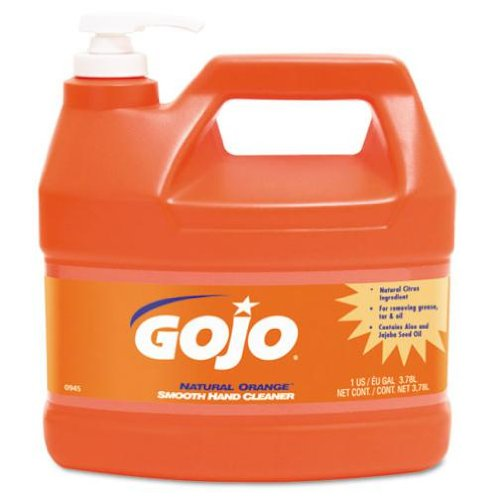 GOJO ORANGE SMOOTH HAND CLEANER-1 GAL.