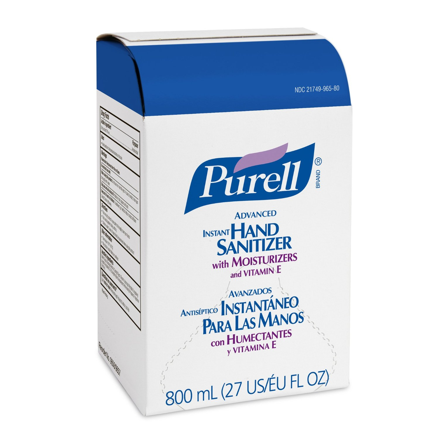 PURELL INSTANT HAND SANITIZER 800 ML REFILLS- 6/CS