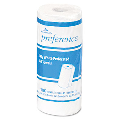 PREFERENCE 273 HOUSEHOLD ROLL TOWELS 100 SHEETSPER ROLL 30/CASE