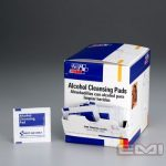 ALCOHOL CLEANSING PADS 100/BOX