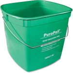 6 QT GREEN SANITIZER BUCKET/ 1 EACH