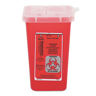 1 QT. SHARPS CONTAINER