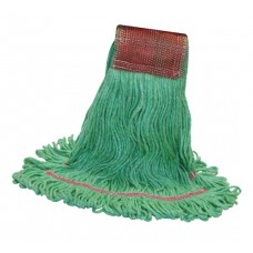 KDLWBSLG  KODIAK LARGE GREEN  4 PLY PREMIUM  SHRINKLESS MOP HEAD W/ 5' HB- 1 EACH