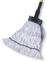 KODIAK MEDIUM GREEN 4 PLY PREMIUM SHRINKLESS MOP HEAD W/ 5' HB- 1 EACH