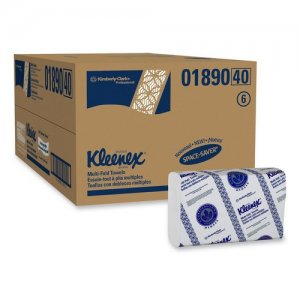 KLEENEX 01890 WHITE MULTIFOLD  2400/CS