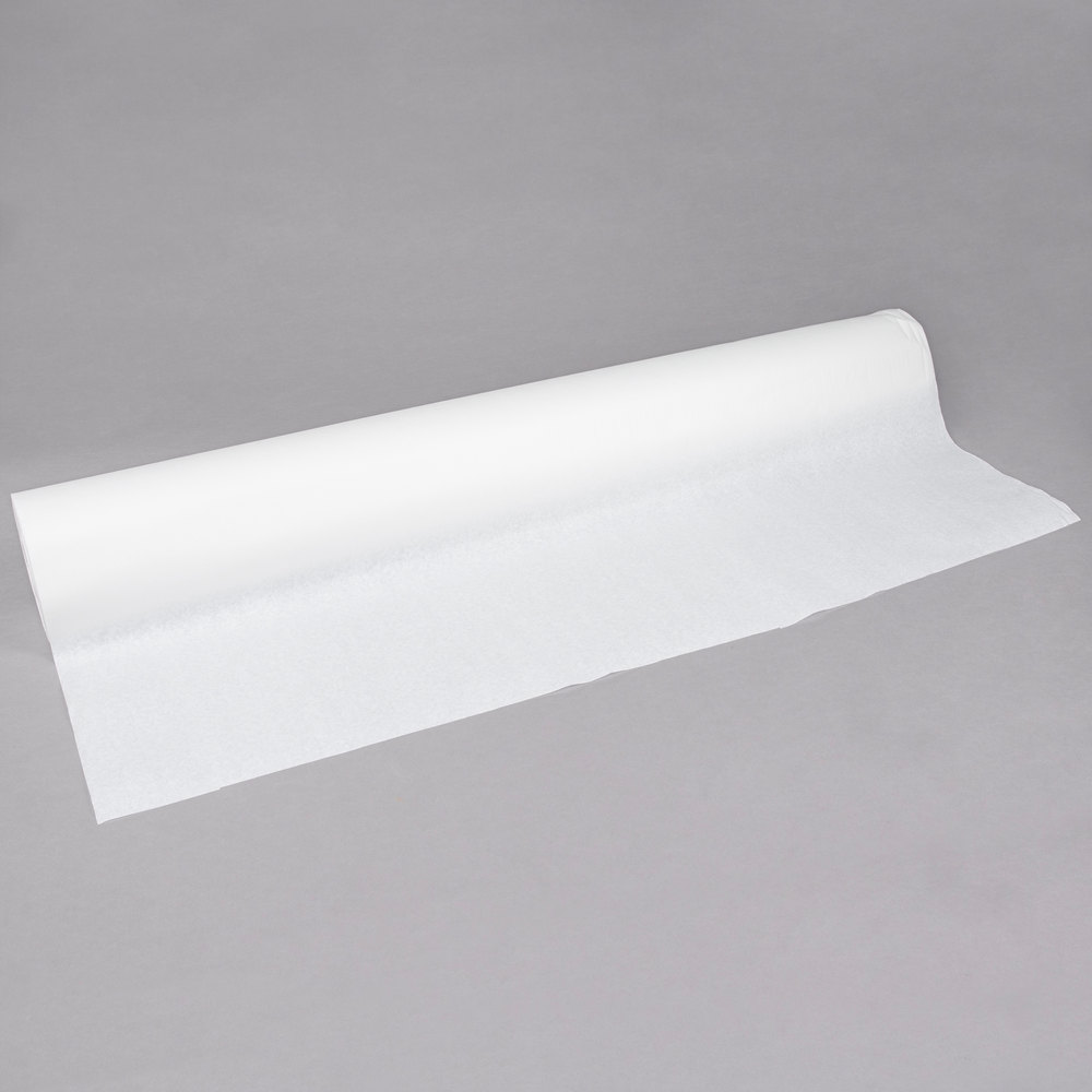 "40"" x 300' WHITE TABLE PAPER-1 ROLL"