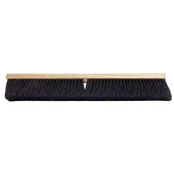 "36"" BLACK TAMPICO PUSH BROOM"