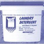 METERPAK WHITE LAUNDRY SOAP PACKETS 250/PAIL #164