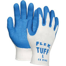 FLEX TUFF PALM DIPPED GLOVE  EXTRA LARGE   1 DOZEN