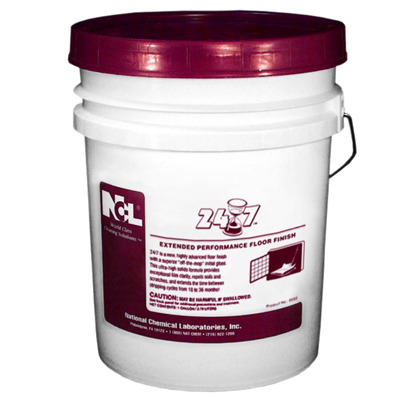 24 7 Hi Performance Floor Finish 5 Gal Pail Dalton Amp Co
