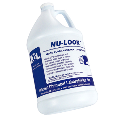 NU LOOK WOOD FLOOR CLEANER & CONDITIONER 1 GAL...(SIMILAR TO MURPHYS OIL SOAP)