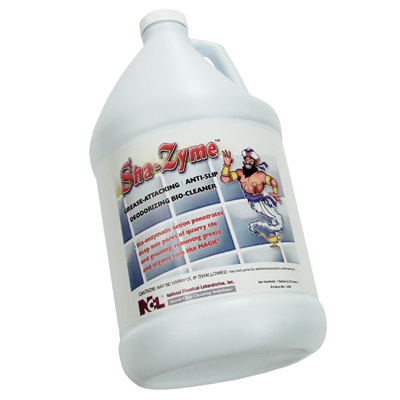 SHA-ZYME GREASE ATTACKING ANTI SLIP DEODORIZING BIO CLEANER 1 GALLON
