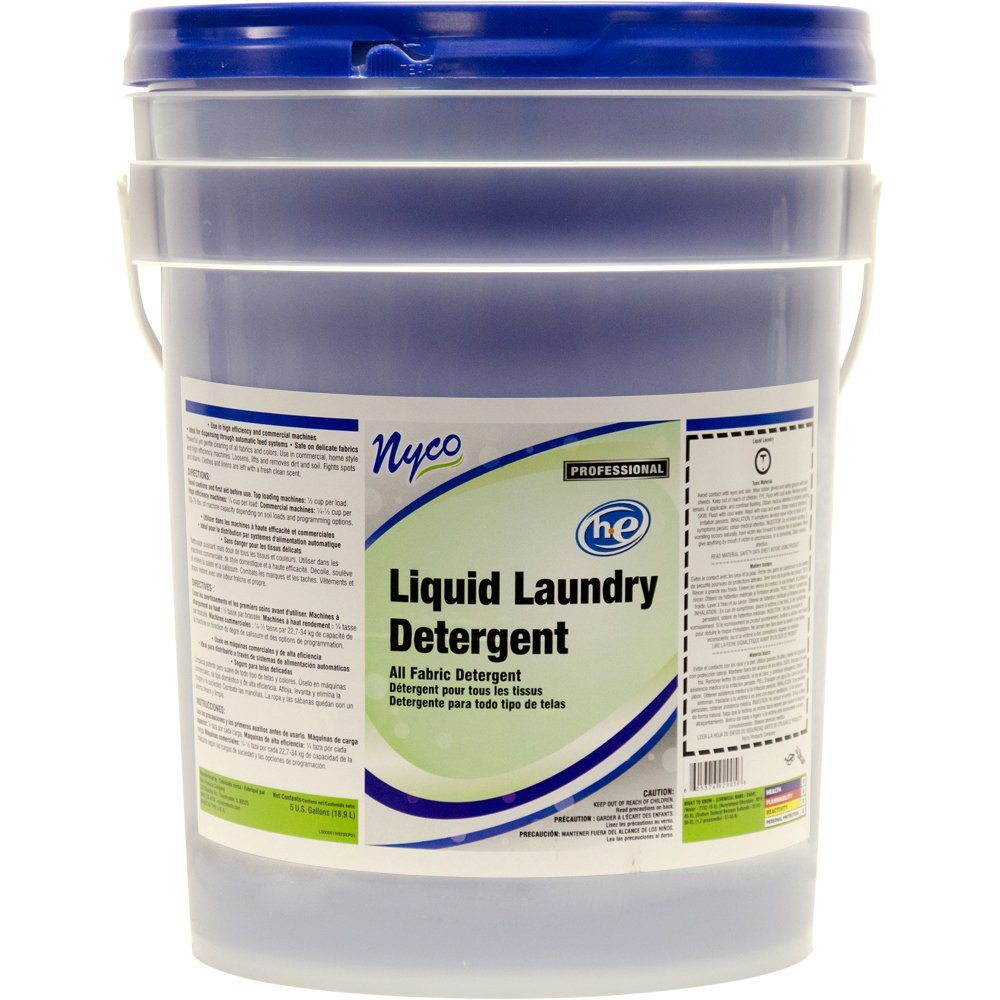 NYCO CONCENTRATED  LIQUID LAUNDRY DETERGENT-5 GAL. PAIL
