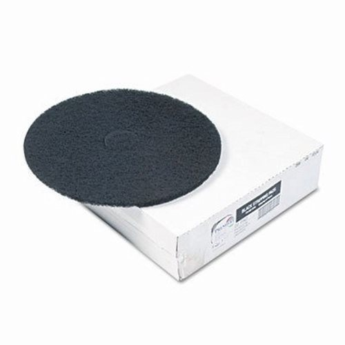 "12"" BLACK STRIP FLOOR PAD"