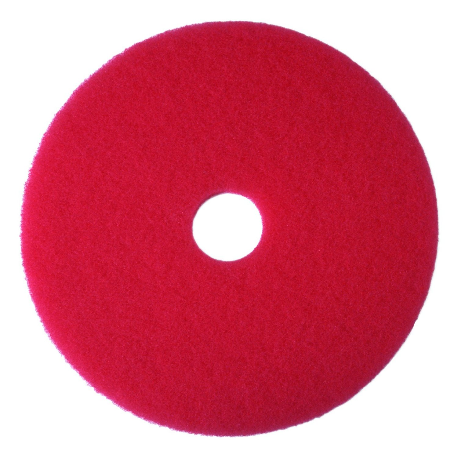 "12"" RED BUFFING PADS- 1 PAD"