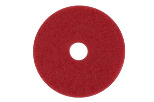 "13"" RED BUFFING FLOOR PAD-1 PAD"