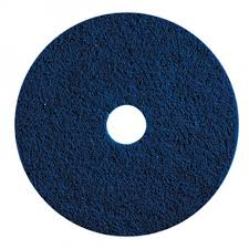 "14"" BLUE SCRUB FLOOR PAD 1 EACH"
