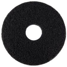 "14"" BLACK STRIPPING FLOOR PADS- 1 PAD"