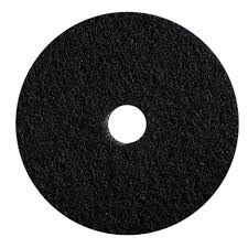 "15"" BLACK STRIPPING FLOOR PAD-1 PAD"