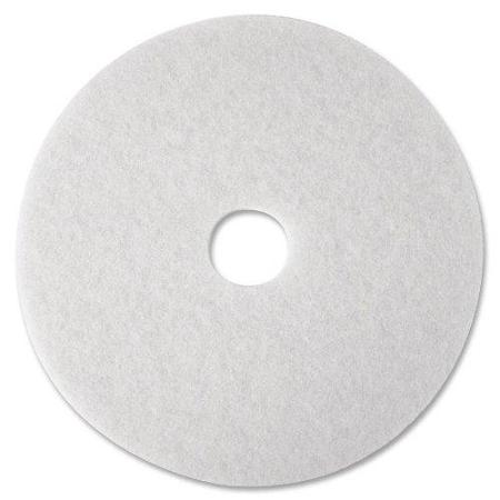 "16"" WHITE POLISH FLOOR PAD"